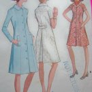 70s Vintage Coat Dress Coatdress Plus Size 38 B 42 McCall's Sewing Pattern 2688
