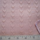 Williamsburg Restoration Satin Leaf Stripe Peach Tapestry Fabric Schumacher 58965