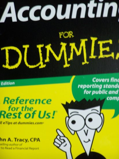 Accounting For Dummies 3rd Edition College Book