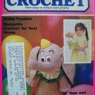 27 Vintage Crocheting Patterns Book Quick & Easy Wedding Headpiece Crown Bedspread Doll Pattern