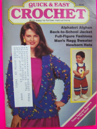 30 Vintage Crochet Patterns Book Tablecloth Doilies Misses Halter Top Kids Sweaters