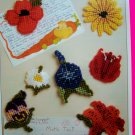 Plastic Canvas Patterns Fridgies Magnets Flowers Lily Poppy Pansy Daisy Tulip Morning Glory
