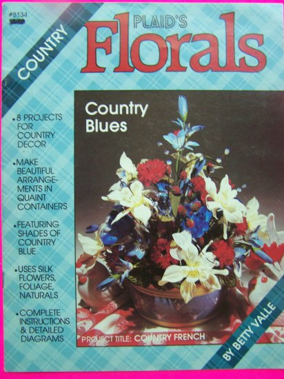 Vintage Country Plaid's Book How to Make Floral Arrangements Flower Decorations