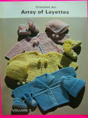 Sweet Baby Layette LW1297 | Free Patterns | Yarn
