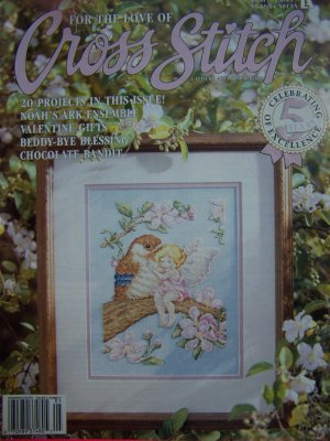 For the Love of Cross Stitch Back Issue Magazine 20 Patterns Pattern Book