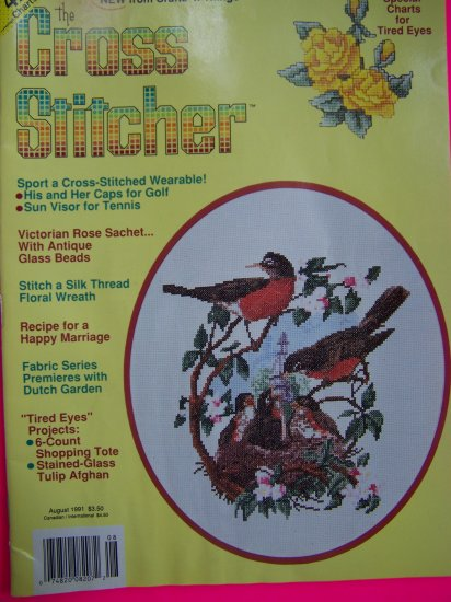 Crafts N Things The Cross Stitcher Back Issue Pattern Magazine 42 Patterns Cross Stitch