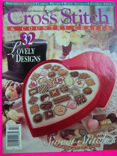 Better Homes & Gardens Cross Stitch Magazine Pattern Book 32 Patterns