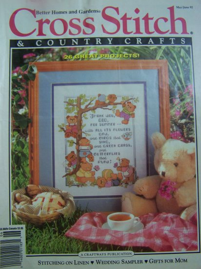 Better Homes & Gardens Cross Stitch & Country Crafts Pattern 26 Project Patterns