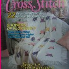 90s Simply Cross Stitch Pattern Magazine # 4  March April Back Issue Patterns