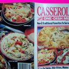 Casseroles and One Dish Meals Recipes Cookbook Pasta Stir Fry Soups Main Dishes