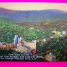 40s Vintage Postcard Picture Medical Arts Building and Arlington Hotel Hot Springs Arkansas