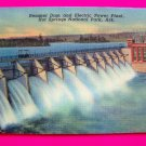 Remmel Dam Electric Power Plant Hot Springs National Park Arkansas Postcard Souvenir Picture Card