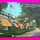 Vintage Million Dollar Bath House Row Promenade Hot Springs Arkansas Souvenir Postcard Picture Cards