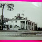 Vintage Black & White Photo Washington Mansion Historical Mt Vernon VA Virginia B&W Photograph