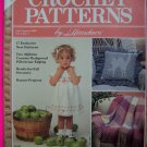 80s Vintage Herrschners Crochet Patterns Back Issue Magazine July August 1989