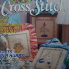 1990s Simply Cross Stitch Pattern Magazine 23 Needlepoint Patterns