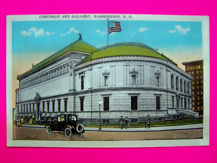 Vintage Postcard Corcoran Art Gallery Washington DC