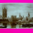 Vintage Postcard 1930s Houses of Parliament Victoria Tower Big Ben Valentine's Post Card