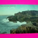 1914 Postcard Castle Rock Marblehead Neck Massachusetts Post Card Mass