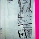 Vintage 1960s Apron Mail Order Photo Guide Patch Pockets Sewing Pattern 8150