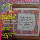 Cross Stitch Plus Pattern Magazine March 1993 + 1992 Annual Project Index Patterns