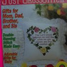 90s Just Cross Stitch Back Issue Pattern Magazine Project Patterns Jan Feb 94
