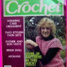 30 Patterns Vintage Womens Circle Crochet Pattern Magazine 1983