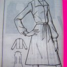 New 70s Belted Jumper Dress or Shirt Mail Order Sue Burnett Vintage Sewing Pattern 1411