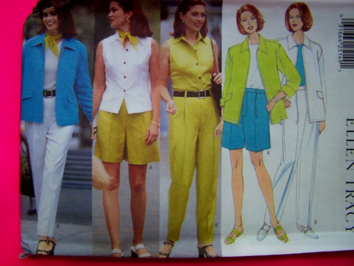 Misses Todays Wardrobe Separates 12 14 16 Butterick Sewing Pattern 4889