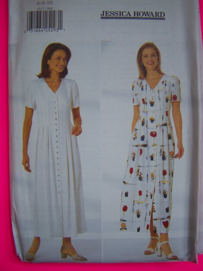 Jessica Howard A Line Dress 6 8 10 Sewing Pattern 4913