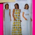 Long Evening Gown Formal Party Dress Chetta B 14 16 18 Sewing Pattern 4916
