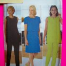 Uncut A Line Princess Seam Dress Tunic Top Slim Pants Donna Ricco Sewing Pattern 4930