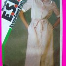 Vintage Shirtwaist Dress Sewing Pattern Sz 10 12 14 Simplicity 6399