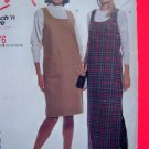 Easy Misses Scoop Neck Jumper Dress 12 14 16 18 Sewing Pattern 8876 Free USA Shipping