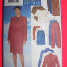Plus Size Womens Jacket Top Pants Suit 16 18 20 Sewing Pattern 5212