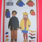 Childrens 2 3 4 5 Winter Jacket Pants Skirt Hat Scarf Sewing Pattern 5714 Penny USA Shipping