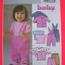 USA 1 Cent S&H Uncut Sewing Pattern 4215 L XL Infant Babies Jacket Top Pants 22 - 29 Pounds