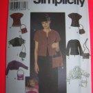 Simplicity Sewing Pattern 9016 Jackets 6 Purses Knit Jacket 6 8 10 12 USA Shipping 1 Cent