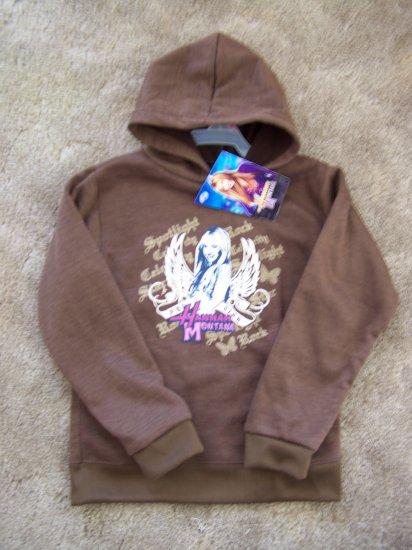 New Disney Hannah Montana Sweatshirt Hoodie 7 8 Pullover Jacket 1 Penny Shipping