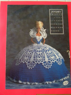 eBay - Crochet Pattern BARBIE BRIDES Wedding Beaded Dress Gown