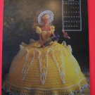 Crochet Pattern Barbie Bed Doll Southern Belle Dress and Hat Annies May 1991