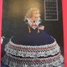 July Annie's Attic Crochet Barbie Bed Doll Dress Pattern