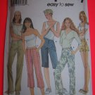 Simplicity Sewing Pattern 7196 Sz 14 16 18 20 Pants Shorts 5 Lengths $1 S&H