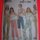 Simplicity Sewing Pattern 7196 Sz 14 16 18 20 Pants Shorts 5 Lengths $1 S&H