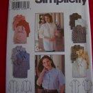 Misses Set of Shirts Sz 12 14 16 Sewing Pattern 9818 USA 1 Dollar Shipping