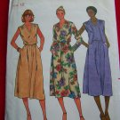 Vintage 70s Sewing Pattern Dress Vest  V Neck Butterick 6376 USA 1 Dollar Shipping