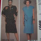 Plus Size 22 24 Vintage Sewing Pattern XL Pullover Dress Belt Appliques Helen Lee McCalls