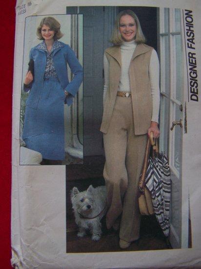 $5 Patterns Vintage Simplicity Sewing Pattern B 38 Shirt Jacket Vest Skirt Pants 8161