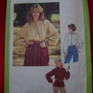 Vintage Sewing Pattern Sale 8704 Long Raglan Sleeve Shirt B36