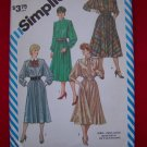 Vintage Sewing Pattern Simplicity 6170 Dress SHoulder Flanges 6170 $5 Patterns Sale